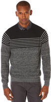 Perry Ellis Horizontal Stripe Sweater