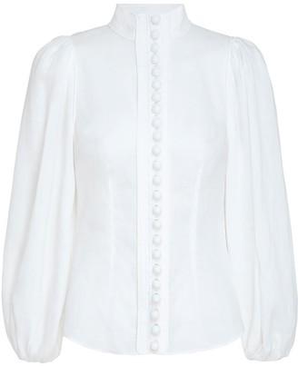 Zimmermann Brightside Piped Body Shirt