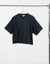 Topshop boxy t-shirt in grey marl