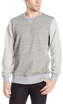 G Star Men's Riban R Sw Long Sleeve Sweatshirts Platinum