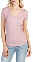 Paige Women's Lynnea V-Neck Pocket Tee