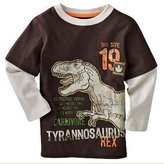 Canvos Baby Boys Long Sleeve T-shirts Dinosaur Cotton Shirts Tops Clothes