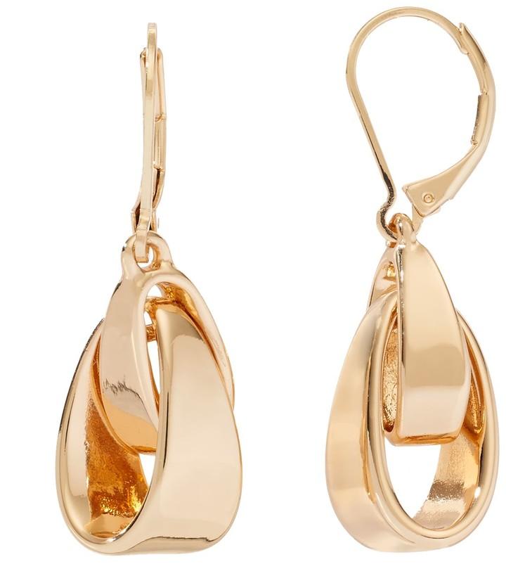 84c5174ad1b19 Interlocked Drop Earrings