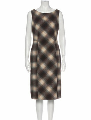Prada 2011 Knee-Length Dress Wool