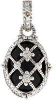 Judith Ripka 18K Onyx & Diamond Pendant