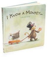 "Jellycat I Know A Monkey"" Book"