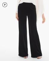 Chico's Velvet Wide-Leg Pants
