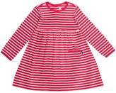 Jo-Jo JoJo Maman Bebe Classic Dress (Baby) - Red/Cream Stripe-18-24 Months