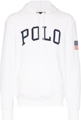 Polo Ralph Lauren logo printed hoodie