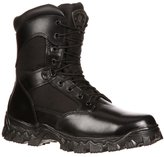 Rocky Men's Alphaforce Waterproof Zipper Composite Toe Duty Boot Black US