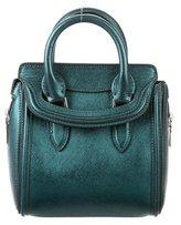 Alexander McQueen Metallic Mini Heroine Bag