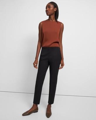 Theory Treeca Side Zip Pant in Good Linen
