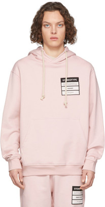 Maison Margiela Pink Stereotype Hoodie