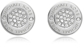 Michael Kors Heritage Pave Stud Earrings