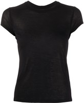Rick Owens fine knit sheer T-shirt