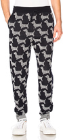 Thom Browne Hector Browne Jacquard Sweatpants