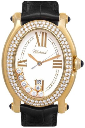 Chopard Pre Owned 2000 pre-owned Happy Sport 32mm