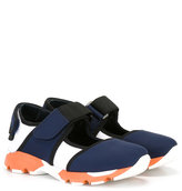 Marni hook and loop trainers - kids - Goat Skin/Polyester/cotton/rubber - 27