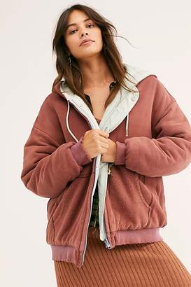 We The Free Black Run Reversible Puffer by at Free People