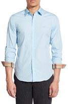 Burberry Men's 'Cambridge Aboyd' Trim Fit Sport Shirt