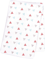 TREND LAB, LLC Trend Lab Coral Triangles Deluxe Swaddle Blanket
