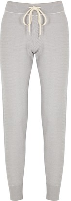 Varley Alice Grey Knitted Cotton Sweatpants