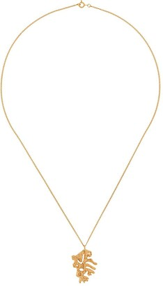 LOVENESS LEE rooster Chinese zodiac necklace