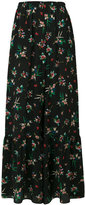 RED Valentino floral print palazzo pants - women - Silk/Polyester/Acetate - 38