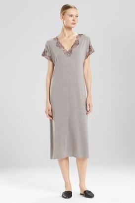 Natori Zen Floral T-Shirt Gown