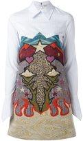 Mary Katrantzou Graphic Cowboy 'Steal' dress - women - Silk/Cotton/Polyamide/Spandex/Elastane - 8
