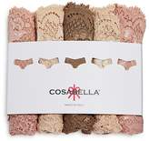 Cosabella Never Say Never Cutie Low-Rise Thongs, Set of 5 #NSNPK5321