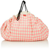 PlayGo LTD Play & Go Diamond Toy Storage Bag & Play Mat-BEIGE, PINK