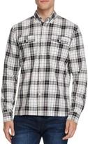 Saturdays NYC Javas Flannel Plaid Slim Fit Button-Down Shirt