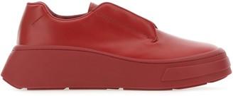 Prada Platform Lace Up Sneakers