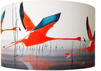 Anna Jacobs - Orange Breaking Dawn Lamp Shade - Large