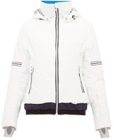 Toni Sailer Antonia Striped Soft-shell Ski Jacket - Womens - White Multi