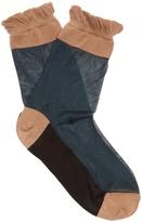 Marni Ruffled semi-sheer socks