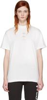 Adidas Originals By Alexander Wang White Logo T-shirt