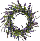 Asstd National Brand Nearly Natural 20 Lavender Wreath