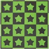 Tadpoles Playmat, Stars/Green/Brown by