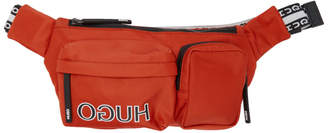 HUGO Orange Reverse Logo Belt Bag