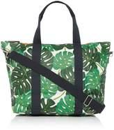 Caroline Gardner Tropical Leaf Foldable Weekend Bag
