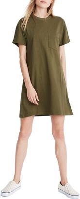 Madewell Tomboy Pocket T-Shirt Dress