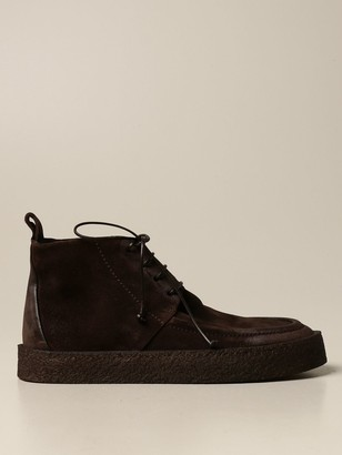 Marsèll Cassapara Ankle Boot In Suede