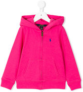 Ralph Lauren classic zip hoodie - kids - Cotton/Polyester - 4 yrs