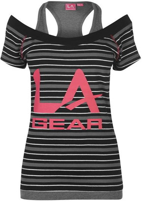 L.A. Gear Multi Layer T Shirt Ladies