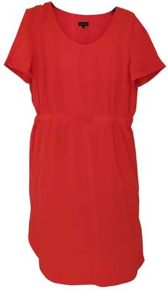 Jaeger Orange Silk Dress for Women