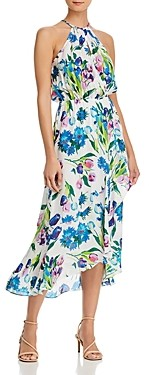 Parker Dottie Printed Halter Maxi Dress