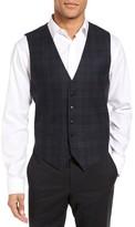 JB Britches Men's Regular Fit Plaid Wool Vest