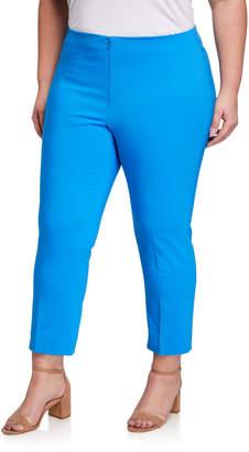 Peace of Cloth Plus Size Ankle-Zip Pants